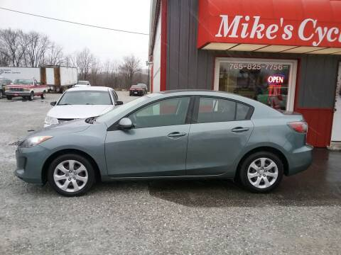 2013 Mazda MAZDA3 for sale at MIKE'S CYCLE & AUTO in Connersville IN