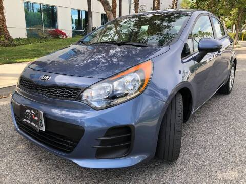 2016 Kia Rio 5-Door for sale at Donada  Group Inc in Arleta CA