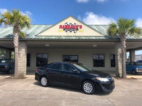 2012 Toyota Camry for sale at Rabeaux's Auto Sales in Lafayette LA