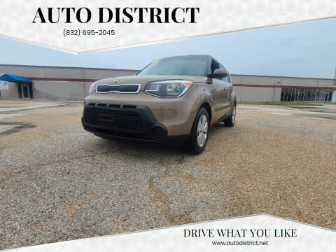 2015 Kia Soul for sale at Auto District in Baytown TX