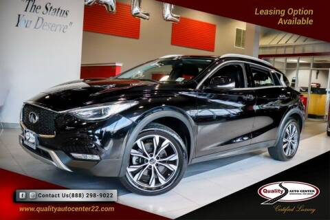 2018 Infiniti QX30 for sale at Quality Auto Center in Springfield NJ