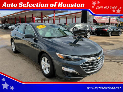 2020 Chevrolet Malibu for sale at Auto Selection of Houston in Houston TX