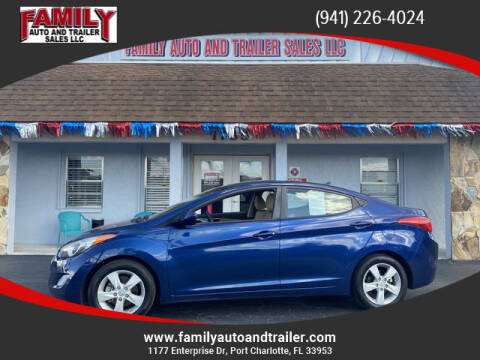 2013 Hyundai Elantra for sale at Family Auto and Trailer Sales LLC in Port Charlotte FL