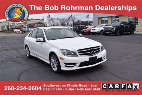 2014 Mercedes-Benz C-Class for sale at BOB ROHRMAN FORT WAYNE TOYOTA in Fort Wayne IN