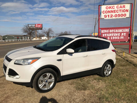 2014 Ford Escape for sale at OKC CAR CONNECTION in Oklahoma City OK
