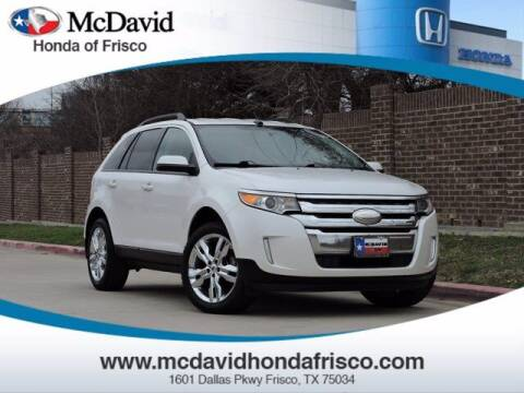 2014 Ford Edge for sale at DAVID McDAVID HONDA OF IRVING in Irving TX
