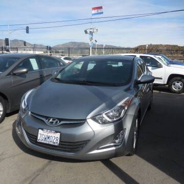 2015 Hyundai Elantra for sale at Luxor Motors Inc in Pacoima CA