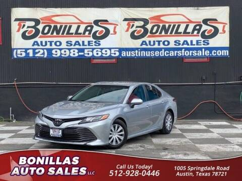 2018 Toyota Camry for sale at Bonillas Auto Sales in Austin TX