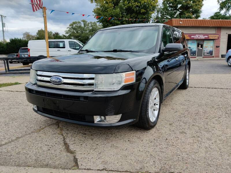 2009 Ford Flex for sale at Lamarina Auto Sales in Dearborn Heights MI