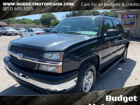 2006 Chevrolet Avalanche for sale at Budget Motorcars in Tampa FL