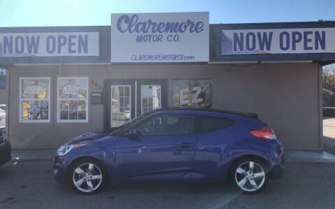 2014 Hyundai Veloster for sale at Claremore Motor Company in Claremore OK