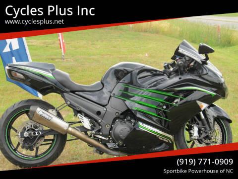 2012 Kawasaki ZX14-R for sale at Cycles Plus Inc in Garner NC