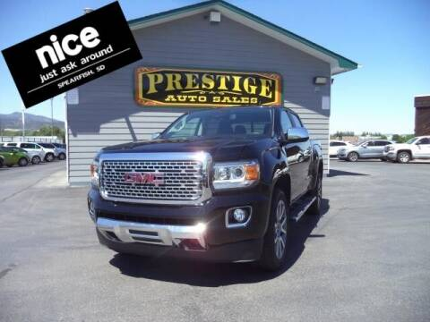 2018 GMC Canyon for sale at PRESTIGE AUTO SALES in Spearfish SD