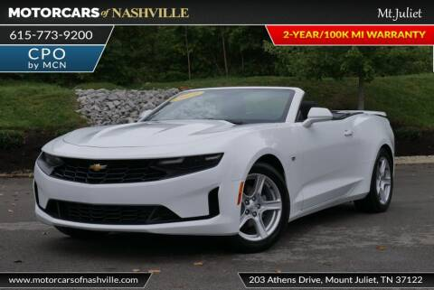 2019 Chevrolet Camaro for sale at MotorCars of Nashville in Mount Juliet TN