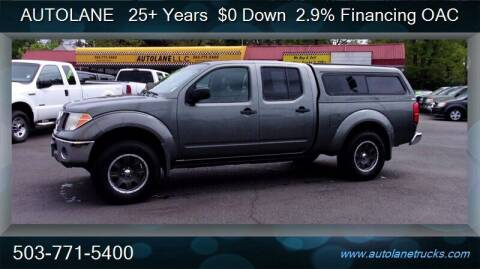 2007 Nissan Frontier for sale at Auto Lane in Portland OR