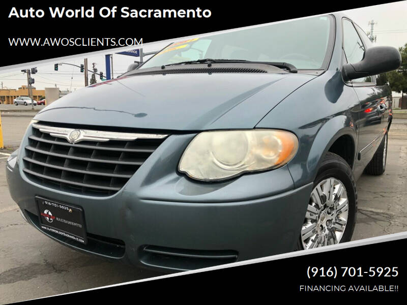 2006 Chrysler Town and Country for sale at Auto World of Sacramento Stockton Blvd in Sacramento CA