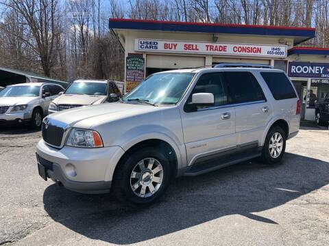 2004 Lincoln Navigator for sale at Rooney Motors in Pawling NY