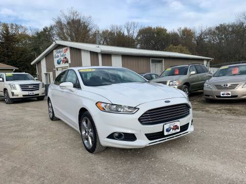 2014 Ford Fusion for sale at Victor's Auto Sales Inc. in Indianola IA