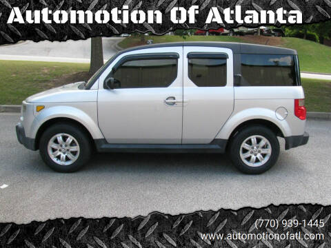 2008 Honda Element for sale at Automotion Of Atlanta in Conyers GA