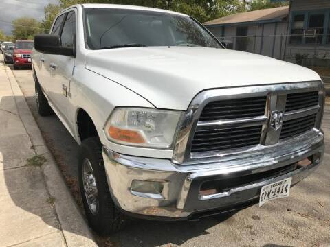 2011 RAM Ram Pickup 2500 for sale at Carzready in San Antonio TX