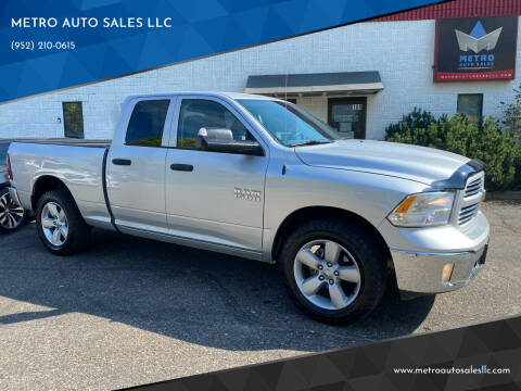 2014 RAM Ram Pickup 1500 for sale at METRO AUTO SALES LLC in Blaine MN