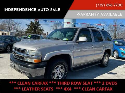 2006 Chevrolet Tahoe for sale at Independence Auto Sale in Bordentown NJ