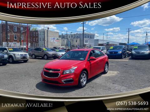 2016 Chevrolet Cruze Limited for sale at Impressive Auto Sales in Philadelphia PA