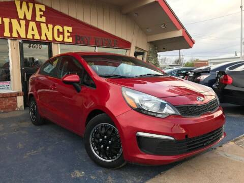 2017 Kia Rio for sale at Caspian Auto Sales in Oklahoma City OK