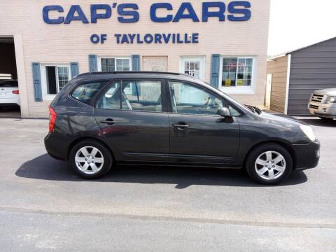 2007 Kia Rondo for sale at Caps Cars Of Taylorville in Taylorville IL