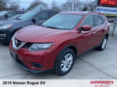 2015 Nissan Rogue for sale at Warren Auto Sales in Oxford NY