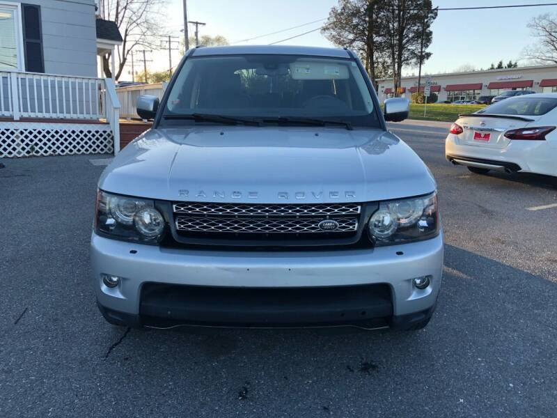 2013 Land Rover Range Rover Sport for sale at Fuentes Brothers Auto Sales in Jessup MD