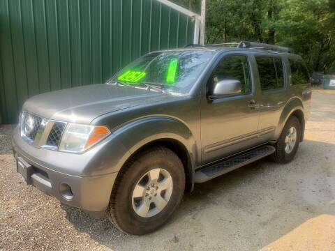 2007 Nissan Pathfinder for sale at Northwoods Auto & Truck Sales in Machesney Park IL