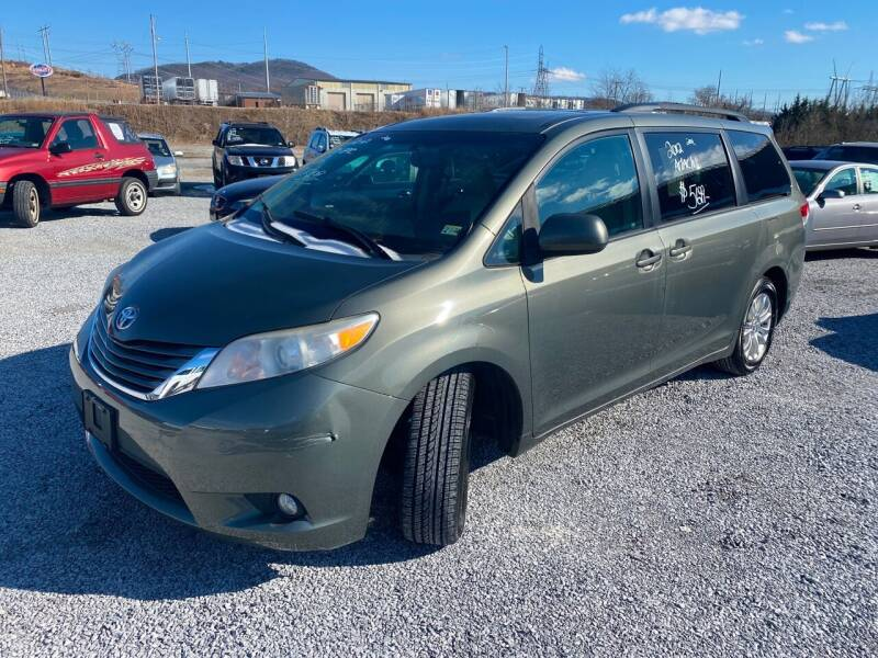 2012 Toyota Sienna for sale at Bailey's Auto Sales in Cloverdale VA