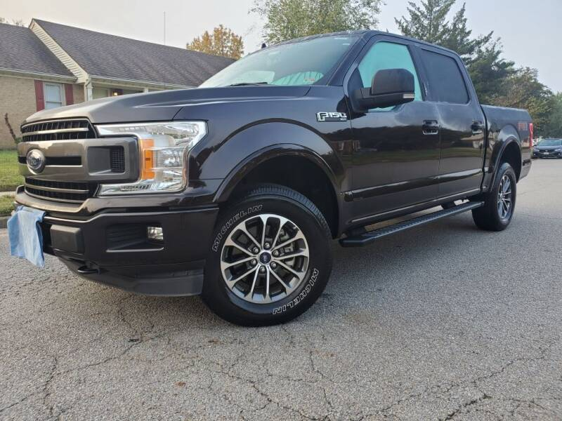 2018 Ford F-150 for sale at TM AUTO WHOLESALERS LLC in Chesapeake VA