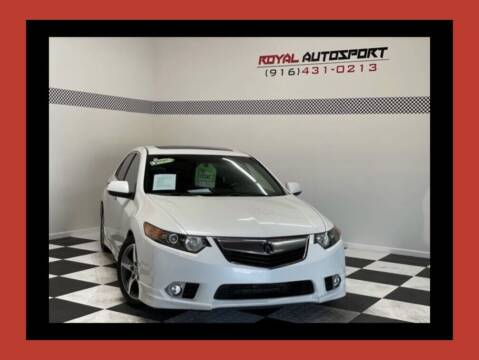 2013 Acura TSX for sale at Royal AutoSport in Sacramento CA