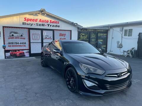 2015 Hyundai Genesis Coupe for sale at Speed Auto Sales in El Cajon CA