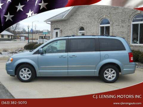2010 Chrysler Town and Country for sale at C.J. Lensing Motors Inc in Decorah IA