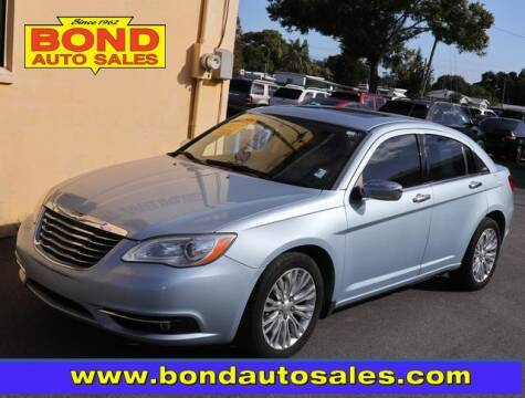 2012 Chrysler 200 for sale at Bond Auto Sales in St Petersburg FL