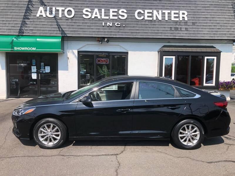 2018 Hyundai Sonata for sale at Auto Sales Center Inc in Holyoke MA