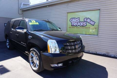 2013 Cadillac Escalade ESV for sale at Cars Trucks & More in Howell MI