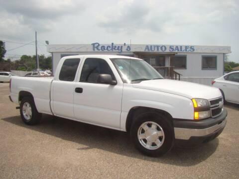 2007 Chevrolet Silverado 1500 Classic for sale at Rocky's Auto Sales in Corpus Christi TX