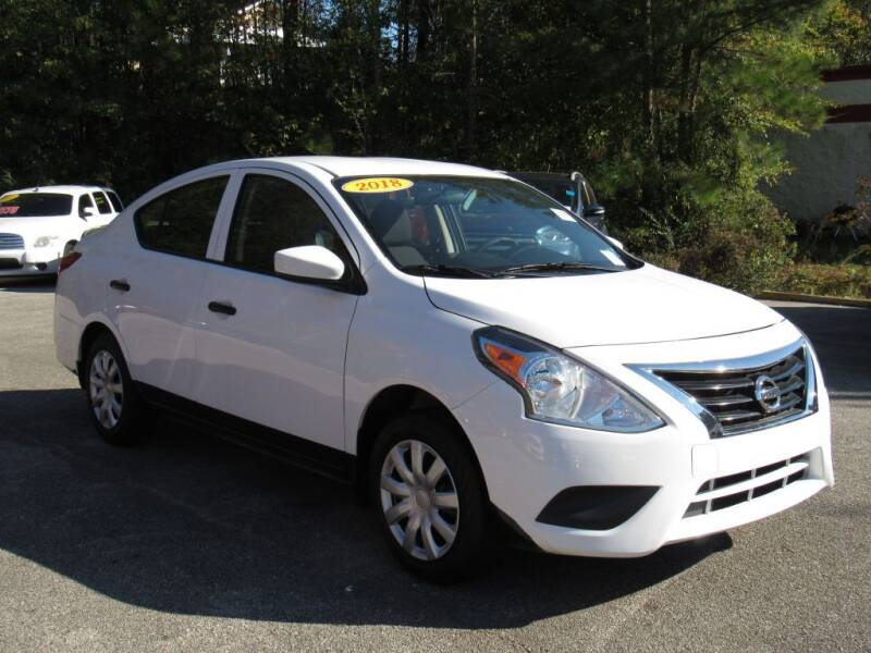 2018 Nissan Versa for sale at Discount Auto Sales in Pell City AL