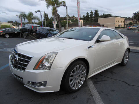 2014 Cadillac CTS for sale at Eagle Auto in La Mesa CA