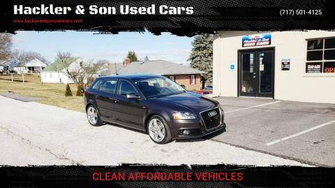 2012 Audi A3 for sale at Hackler & Son Used Cars in Red Lion PA