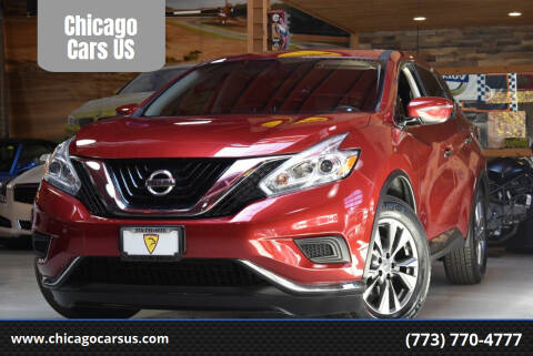 2017 Nissan Murano for sale at Chicago Cars US in Summit IL