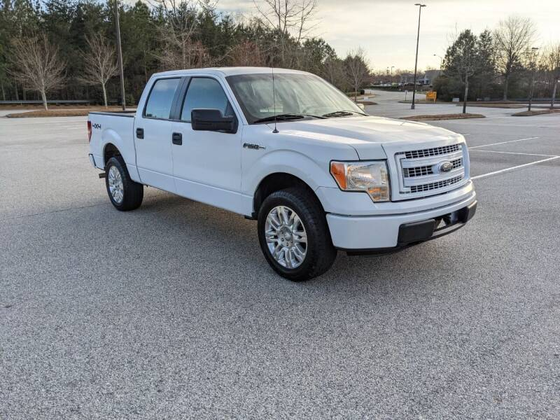 2013 Ford F-150 for sale at United Luxury Motors in Stone Mountain GA