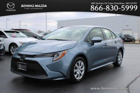 2020 Toyota Corolla for sale at Bening Mazda in Cape Girardeau MO
