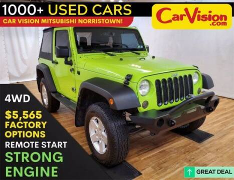 2013 Jeep Wrangler for sale at Car Vision Buying Center in Norristown PA