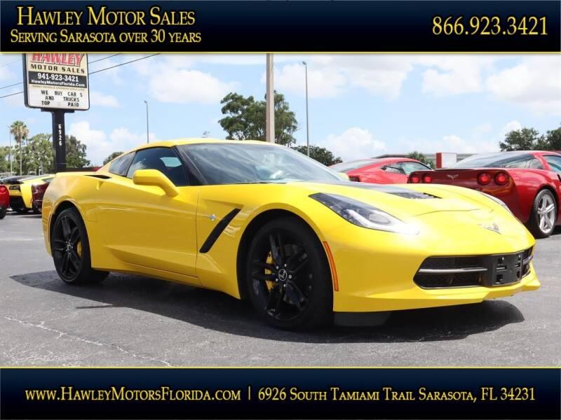 2014 Chevrolet Corvette for sale at Hawley Motor Sales in Sarasota FL