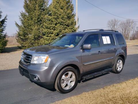2012 Honda Pilot for sale at Carmart Auto Sales Inc in Schoolcraft MI